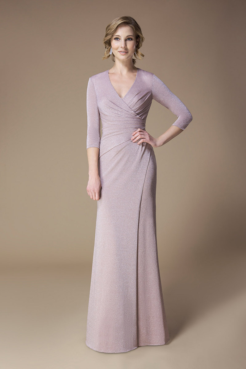 Kelsey Rose Bridesmaid Dress Sparkle Wrap